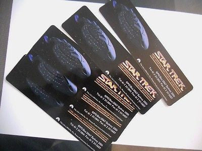 Star Trek Australia Fan Club 6 bookmarks 1990s