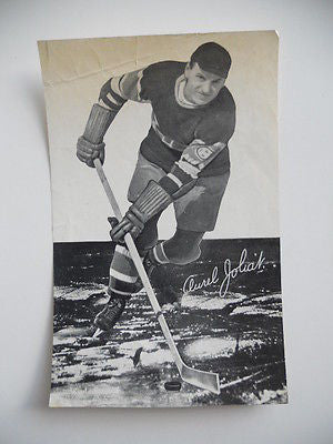 1930s Beehive paper card hockey Aurel Joliat