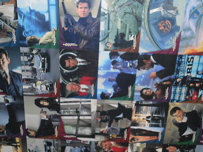 James Bond Goldeneye rare uncut card sheet 1990s