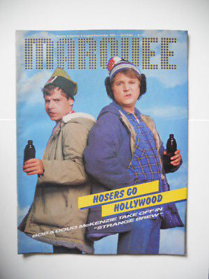 Bob /Doug Mckenzie movie magazine 1981