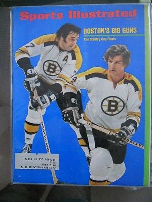 Bobby Orr NHL Sports Illustrated magazine 1970s