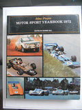 Formula 1 racing John Player motor sport yearbook 1972