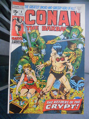 Conan the Barbarian  #8 comic book 1970s
