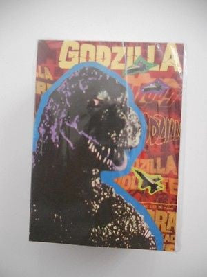 Godzilla horror monsters rare vintage complete card set 1990s