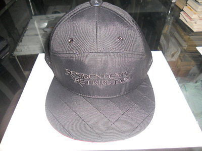 Resident Evil Retribution Movie rare Black snapback limited issue hat