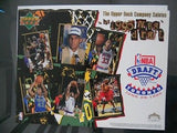Toronto Raptors UD NBA draft uncut card sheet 1995