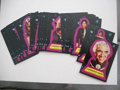 Battlestar Galactica Movie sticker cards set 1978
