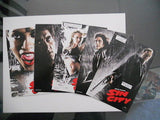Sin City movie limited issued 5 cards 4x6 postcard set
