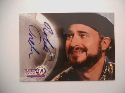 Xena Warrior Princess Robert Trebor autograph insert card 1990s