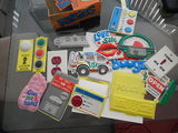Falsies Fleer display box /assorted Falsies 1960s