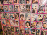 Mod Squad TV show rare uncut card sheet 1967