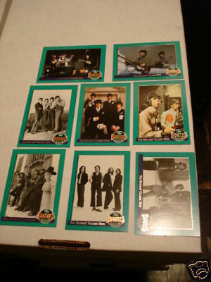 Beatles insert card set 1990s