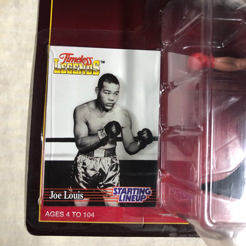Joe Louis boxing Starting Lineup factory sealed figure and card 1990s