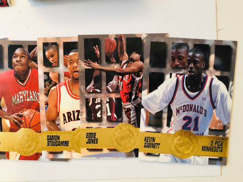 1995 Press Pass basketball draft cards set