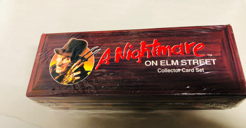A Nightmare On Elm street movie factory sealed set 1991