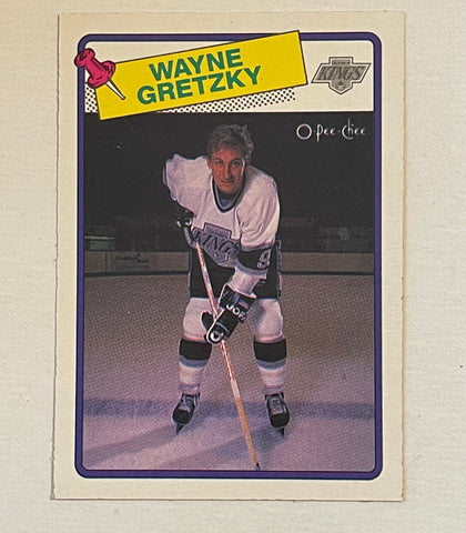 Wayne Gretzky opc high grade condition hockey card 1988-89