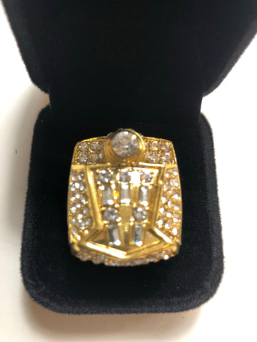Michael Jordan NBA champions replica ring 1998