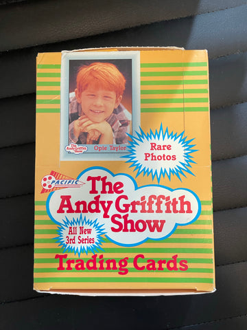 Andy Griffith show series 3 cards box 1991