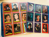1983 Star Wars Return of the Jedi cards series 1 and stickers set