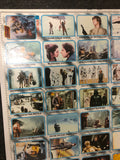 Star Wars Empire Strikes Back series 2 rare uncut cards sheet 1981