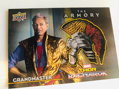 Thor marvel movie Grandmaster rare memorabilia insert card
