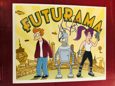 Futurama TV show Katey Sagal rare signed photo with COA