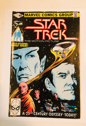 Star Trek movie high grade #1 comic book 1980