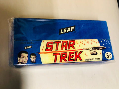 1967 Leaf Star Trek replica Display box