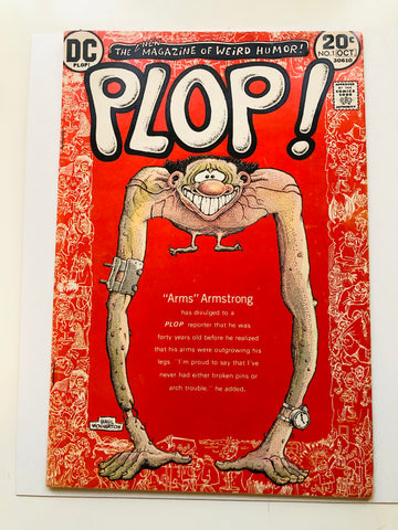 DC Plop #1 rare comic book 1973