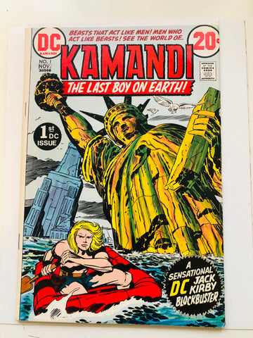 Kamandi The Last Boy on Earth #1 comic book 1972