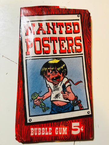1967 Wanted posters unopened pack