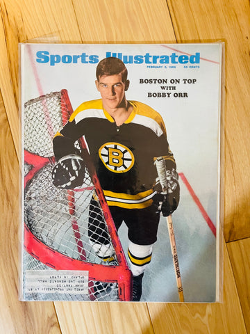 1969 Bobby Orr Sports Illustrated issue