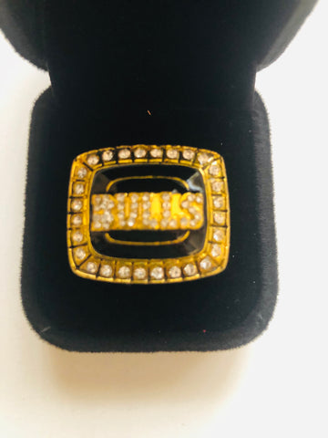 Michael Jordan NBA Chicago Bulls Champions replica ring 1991-92