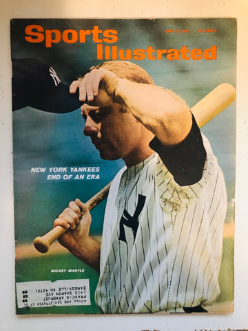 Mickey Mantle Sports Illustrated 1965
