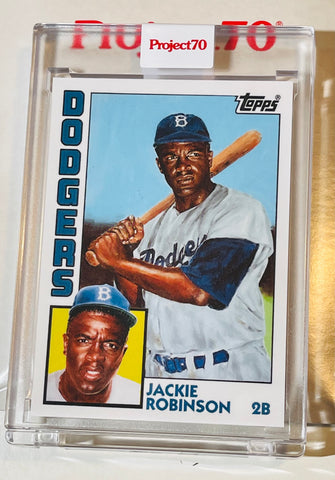 Jackie Robinson Topps project 70 limited issued baseball card