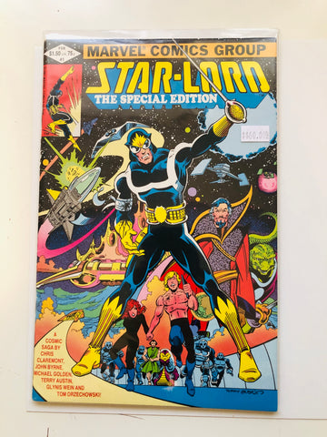 Star -lord  Marvel special #1 issue comic book