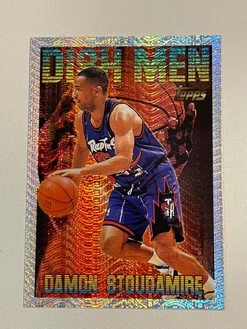 Toronto Raptors Damon stoudamire Topps foil basketball card 1996