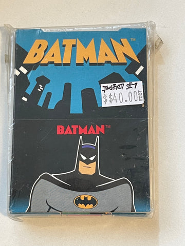 Batman and Robin animation pop up insert cards set 1995