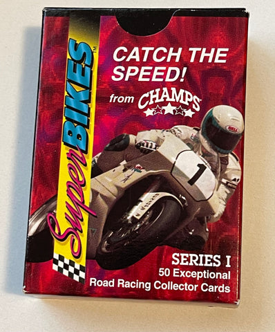 Champs Superbikes Motorcycles cards set 1993