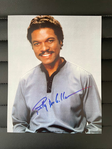 Star Wars Billy Dee Williams signed photo with COA