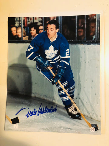 Frank Mahovlich Toronto Maple Leafs autograph photo with COA