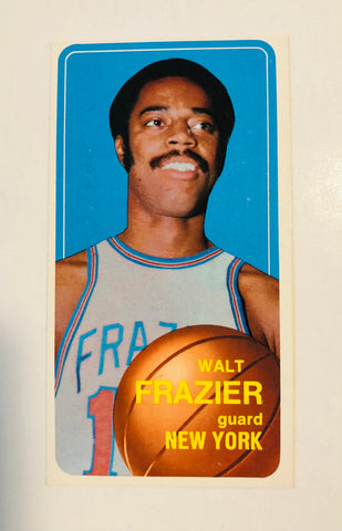 Walt Frazier NBA basketball legend card 1970