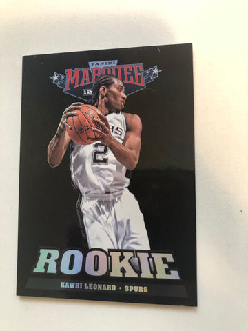 2012 Panini Kawhi Leonard NBA basketball rookie card Toronto Raptors superstar
