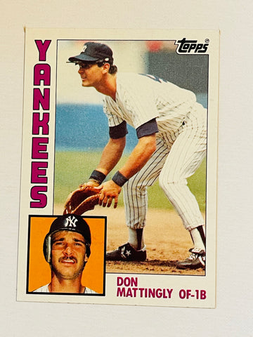 Don Mattingly Topps high grade rookie baseball card 1984
