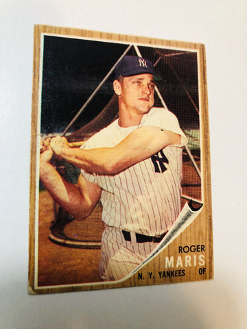 1962 Topps Roger Maris baseball card