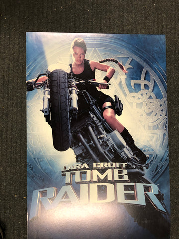 Tomb Raider large movie poster on foam core