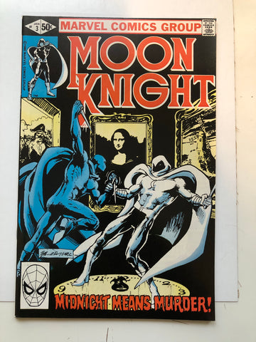 Moon Knight #3 comic book 1981