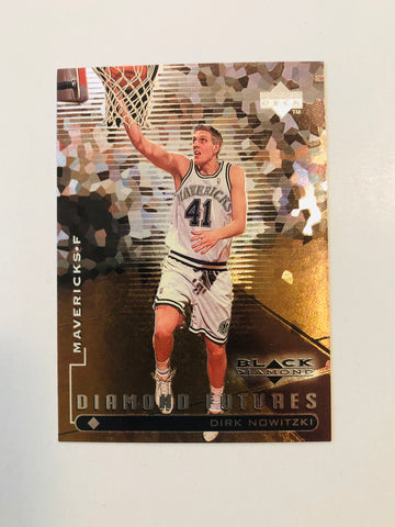 Dirk NowitzkiUpper Deck Black Diamond basketball rookie card 1998