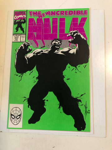 Incredible Hulk #377 first professor Hulk comic