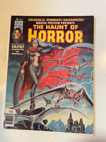 Haunt of Horror #12, 2nd app. Marvel comic magazine 1977
